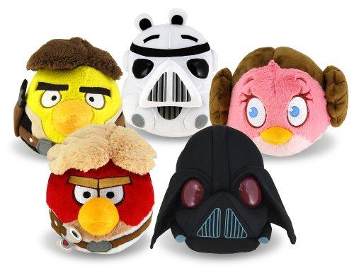 Angry Birds Star Wars Plüsch im Sortiment (Wars Angry Plüsch Star Birds)