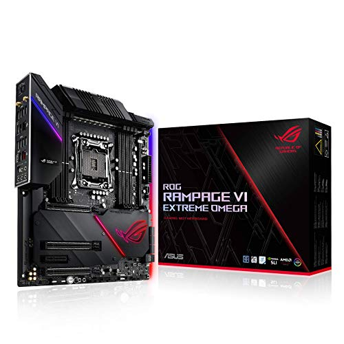 ASUS ROG Rampage We Extreme Omega - Plaque base (Intel, Larga 2066, Intel® CoreTM Serie X, DDR4-SDRAM, DIMM, 2133,2400,2666,2800,2933,3000,3200,3300,3333,3400,3466,3600,3733,3800,3866,4000,4133,4266 MHz)