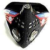 Respro. Máscara Cinqro color negro talla M. incluye 2 filtros