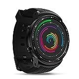 3G GPS Smartwatch 1,53 Zoll (Mehrschichtigem Display,GPS,Android Wear,Wear OS by Google, Bluetooth, NFC, Kompatibel mit Android und iOS) Schwarz, 1 GB + 16 GB Smart Watch BT 4,0 Tragbare Geräte