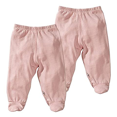 Babysoy Modern Footie Pants Pack of 2 (0-3 Months,