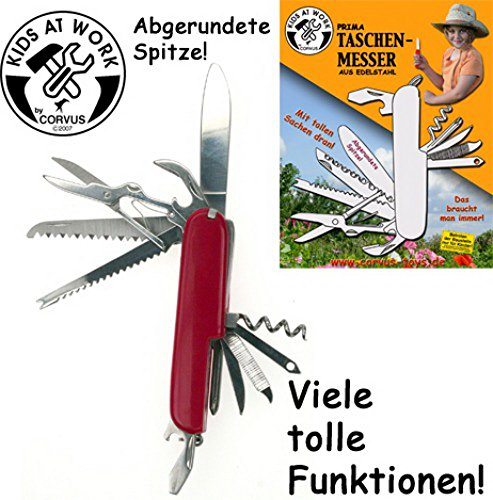 KIDS AT WORK Taschenmesser, 1Stück