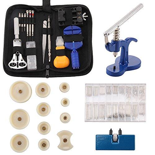 AllRight 409tlg Uhrmacher Set Werkzeug Gehäuseschließer Gehäuseöffner Uhrmacherwerkzeug