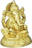 Religioso artículos india Decoración Ganesha Estatua Latón templo hindú puja 5'