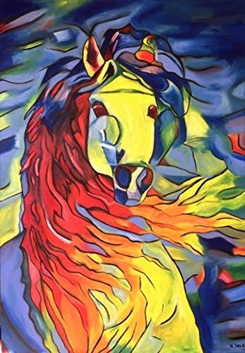 Unikat Exklusive-ART Malerei Bild handmade öl original painting acryl modern XXL Titel: glory (70 cm x 100 cm) - Moderne öl-malerei