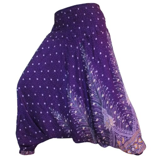jep01-hippy-hippie-boho-festival-peacock-genie-aladdin-harem-pants-trousers-jumpsuit-dark-purple