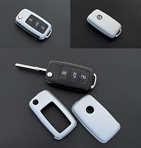 Key Cover Hülle für Klappschlüssel Fernbedienung FFB Grau bis ca. 10/2009