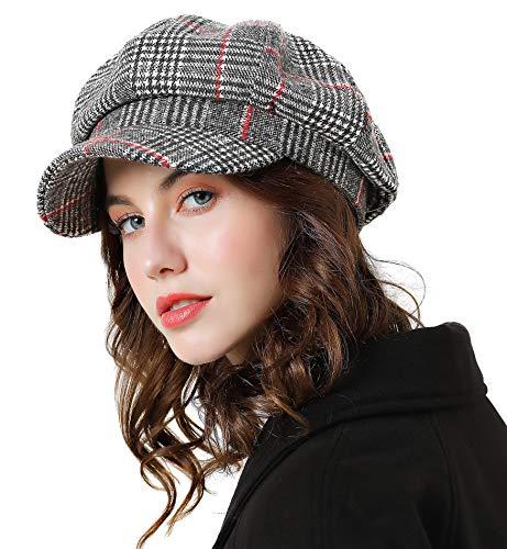 Superora Boinas Mujer Francesa Vintage Sombreros Mujer
