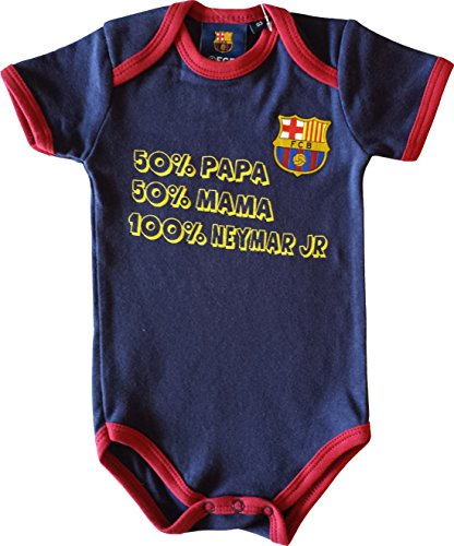 Fc Barcelone Body bébé garçon Barça - Neymar Junior - Collection Officielle