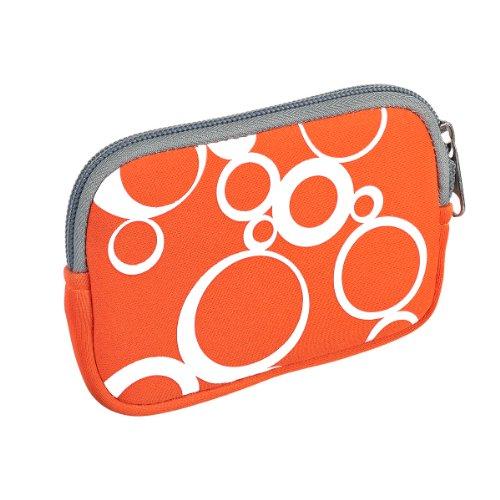vyvy-mobiler-stylische-neopren-universal-kameratasche-fur-kompaktkameras-circles-orange