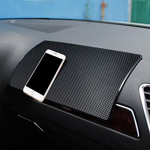 [Verbessert]Auto Anti-Rutsch-Matte, Armaturenbrett Antirutschmatte hitzebeständig Auto rutschfest Pad für Handys, Brillen, Schlüssel