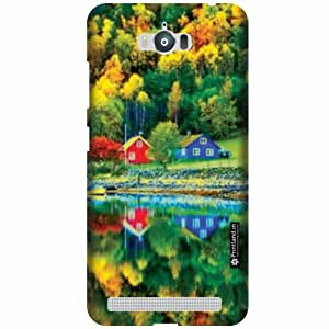 Printland Designer Back Cover for Asus Zenfone Max ZC550KL - Peace Case Cover