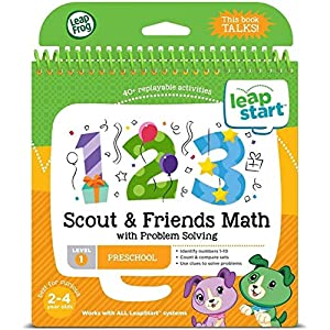 LeapFrog LeapStart Nursery Scout and Friends Maths and Problem Solving Activity Book