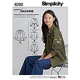 Simplicity creative Patterns US8700A pattern 8700Misses 'Jacket con opzioni per modelli Hacking abbigliamento sportivo