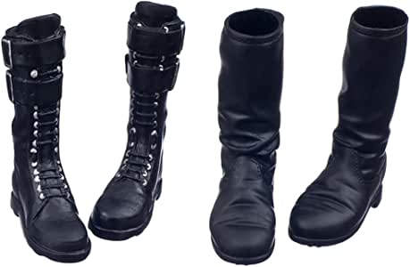 6 vestiti lunghi e corti per action Stivali in pelle da donna scala 1