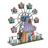 Backbayia 1pc Retro Riesenrad Musik Wind-up Uhrwerk Spielzeug Geschenk Sammlung