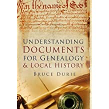 Understanding Documents for Geneaology & Local History (Pocket Images)