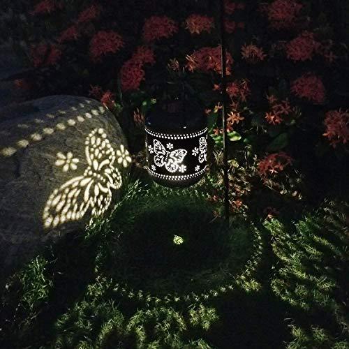 2 Paquete Faroles Solares Exteriores Luz Linerna Solar Colgante Luces Jardines Decorativas...