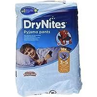 Huggies DryNites hochabsorbierende Pyjama-/ Unterhosen, Bettnässen Jungen Jumbo Monatspackung 3-5 Jahre, 64 Stück