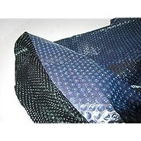 solarnoppen Pantalla Azul/Negro Solar Lona Pool Protectora 305cm
