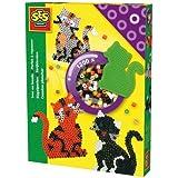SES creative 00756 - Perlas para planchar, diseño de gato