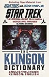 The Klingon Dictionary: English/Klingon, Klingon/English (Star Trek)