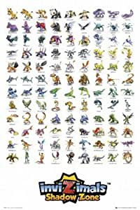 Posters: Invizimals Poster Motif Shadow Zone, Personnages (91 x 61 cm)
