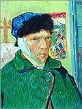 Posterlounge Forex 100 x 130 cm: Self Portrait with Bandaged Ear de Vincent Van Gogh