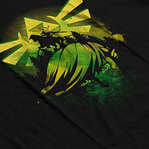 Face Of Hyrule Legend Of Zelda Women's Vest Black