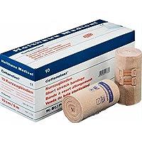 Holthaus Medical Cottonelast® Kurzzug-Binde Verband Binde Bandage, hautfarben, Klammern, 6cmx5m, 1St preisvergleich bei billige-tabletten.eu