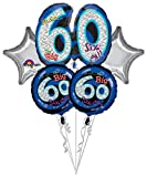 Anagram International Oh No Its My Birthday 60 Package Bouquet, Multicolor