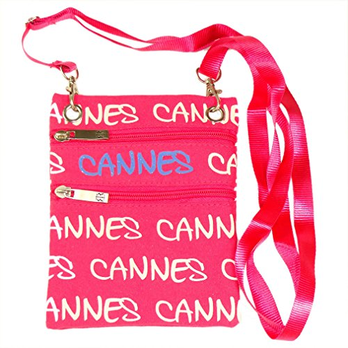 Pochette Passeport Cannes Robin Ruth - Rose