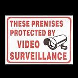 Cctv-Kamera-Sign-Aufkleber Selbst Adhensive Aufkleber RUmlichkeiten
