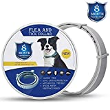 BeiYoYo Flea and Tick Collar for Large and Small Dogs Hypoallergenic and Waterproof