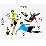 Generic 3D Play Football Soccer Wall Art...