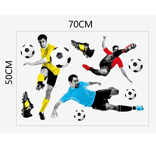Gioco 3D Di Calcio Per Bambini Adesivo Muro Di Calcio