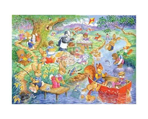 deluxe-childrens-jigsaw-kidzjigz-80-piece-fun-jigsaw-puzzle-picnic-time