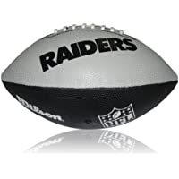 Wilson Football NFL Junior Oakland Raiders Logo, Mehrfarbig, 5, WL0206644040