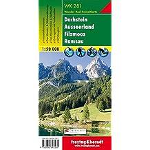Freytag Berndt Wanderkarten, WK 281, Dachstein - Ausseerland - Filzmoos - Ramsau - Maßstab 1:50.000 (freytag & berndt Wander-Rad-Freizeitkarten)