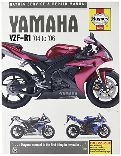 Haynes Manual 4605 YAM YZF-R1 SP & 04-06 par  Haynes