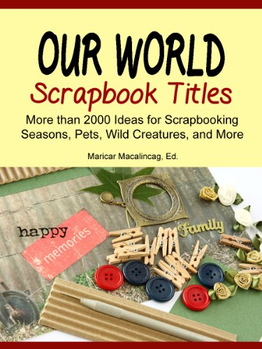 Scrapbooking Experts to Learn From