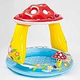 INTEX Baby Pool Fliegenpilz Ø 102x89cm Planschbecken Babypool Babywasserbecken Schwimmbecken