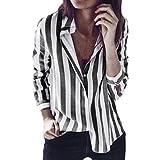 ESAILQ Damen Rundhals Kurzarm T-Shirt Tops mit Allover Anker Print Frauen Casual Druck T-Shirt(L,Dunkelgrau)