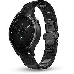 Blink Smart Watch: Steel - Black