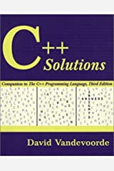 C++ Solutions: Companion to the C++ Programming Language Paperback
