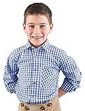 Ki. Trachtenhemd 52915 blau-karo