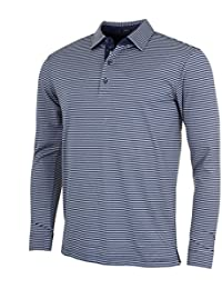 767ce0fc Bobby Jones Mens XH20 Ranger Stripe LS Polo Shirt