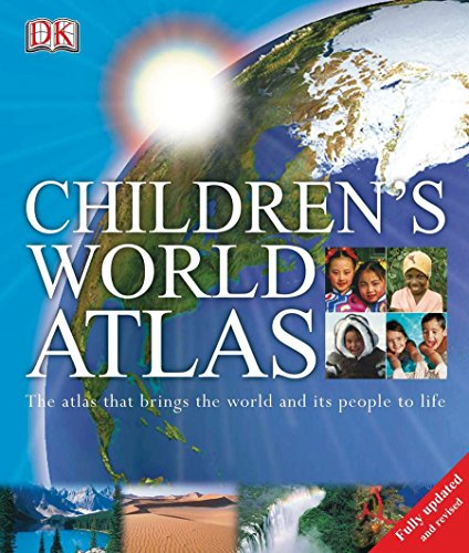 Children's World Atlas: The Atlas That Brings the World and Its People to Life With CDROM