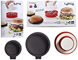 Lékué - Kit para para elaborar hamburguesas y panecillos