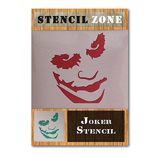 er Gesicht Mylar Airbrush Painting Wall Art Crafts Schablone 2 (A4 Größe Stencil - Small) ()